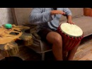 DnB Indian Djembe solo Drum and Bass