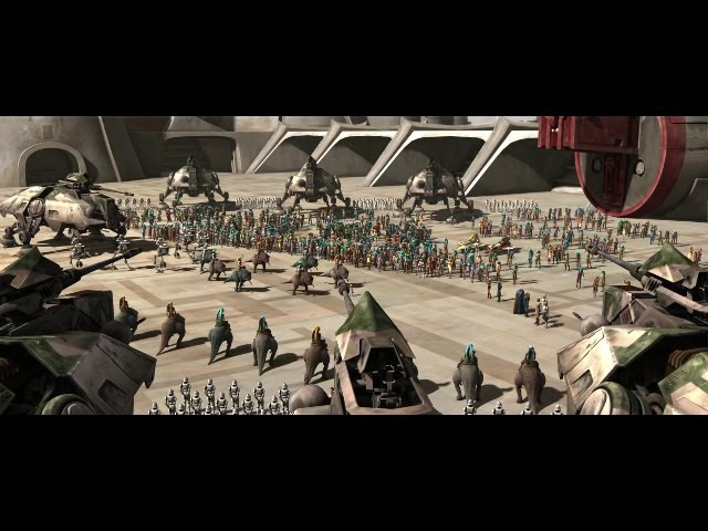Star Wars Clone Wars Cham Syndulla and Mace Windu Save Ryloth HD