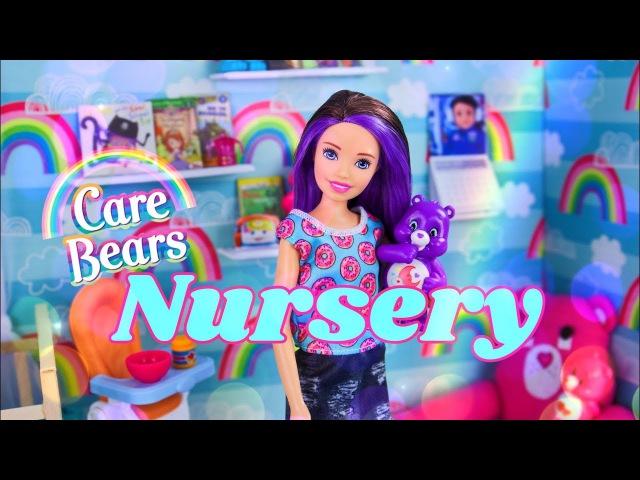 DIY - How to Make Care Bears Nursery Doll Room | Crib | Mini Figures | Custom Rug More