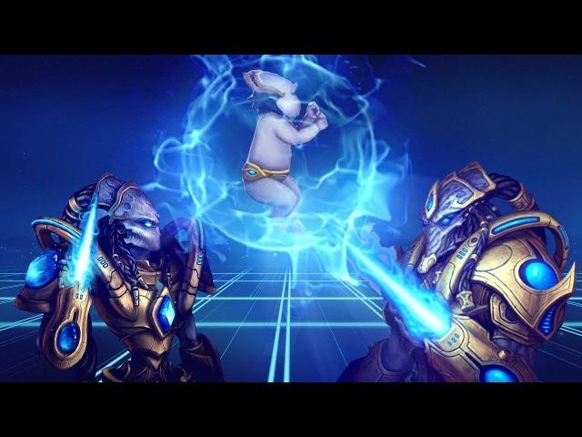 [Хроники StarCraft] КАК РАЗМНОЖАЮТСЯ ПРОТОССЫ