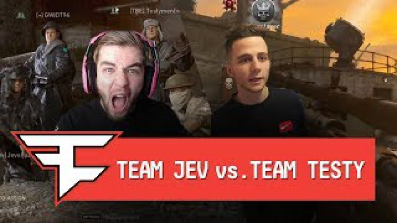 TEAM JEV vs TEAM TESTY