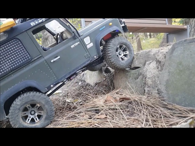 RC4WD D90 Land Rover Defender Cho-ryang Adventure 2