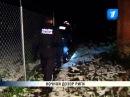 Латвия Рига ночной патруль муниципальной полиции