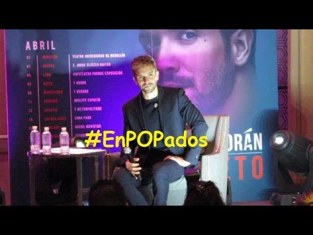 PABLO ALBORÁN en MÉXICO Conferencia de prensa COMPLETA PROMETO TourPrometo EnPOPados