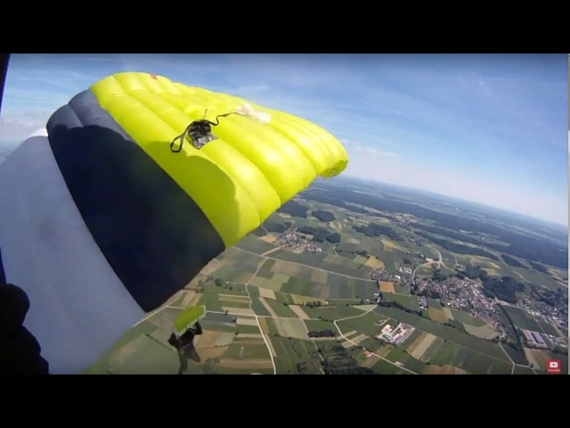 Friday Freakout: Two Parachutes Collide Plane Flyby = WTF!