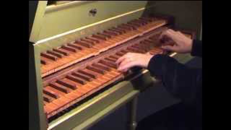 Rameau- les Sauvages- Variations de Tapray- Catherine Zimmer, clavecin