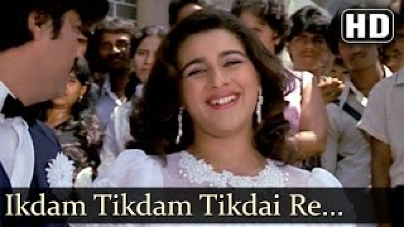 Ikdam Tikdam Tikdai Re HD Karamdaata Song Mithun Chakraborty Amrita Singh Asha Bhosle Hits