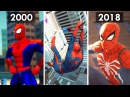 Evolution of Web Swinging in Spider Man Games 2000 2018