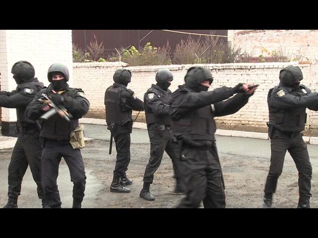 Поліцейські охорони показали свої дії в екстремальних ситуаціях