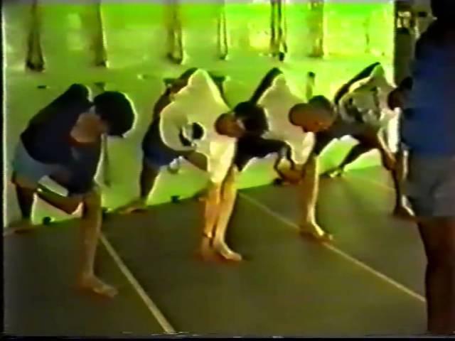 Back bends asanas - Pune 1991 (part 1)