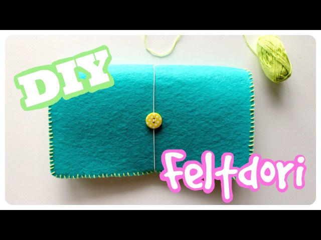 DIY Feltdori ! (Felt traveler's notebook)
