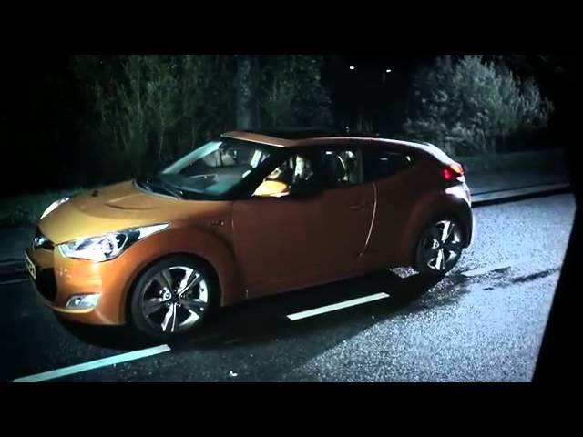 Запрещенная реклама: девушка и смерть. Hyundai