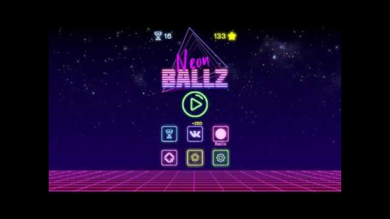 Neon Ballz: Brick Breaker Trailer (Android)