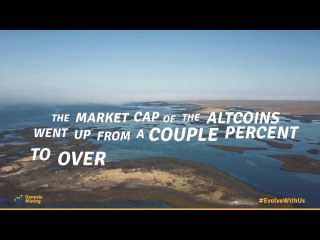 The Rise of the Altcoin Market / Genesis Mining #EvolveWithUs - The Series Episode 3