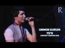 Ummon guruhi Yo'q Уммон гурухи Йук concert version 2016