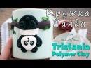 Мастер-класс: Кружка Панда из полимерной глины FIMO/polymer clay tutorial