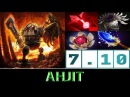 Ahjit Timbersaw The Unstoppable Force ► Dota 2 7.10