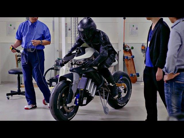 😬 Живой мотоцикл Motoroid от Yamaha 🔋!