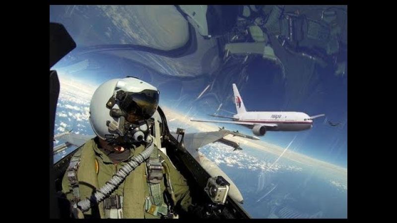 Аудио переговоров между ДКП и пилотом истребителя Су 27 который летел рядом с Боингом MH17