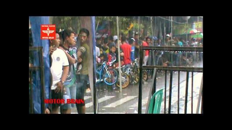 Suasana Padock Dan Garis Start   Drag Bike Mojokerto