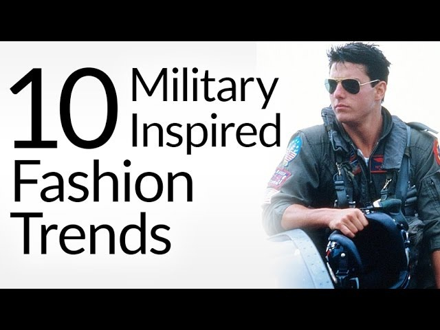 10 Military Inspired Fashion Trends | Mens Style Pieces With Army Heritage | Veterans Day Tribute