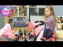 Baby Born Игрушка для детей Коляска для двойняшек Маруся купила коляску для Беби Бо...