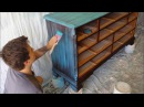 Rustic Chic DIY Dry Brushing Furniture Makeover Start to Finish