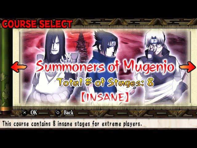 Naruto Ultimate Ninja Heroes 2 The Phantom Fortress | Heroes Mode | призыватели