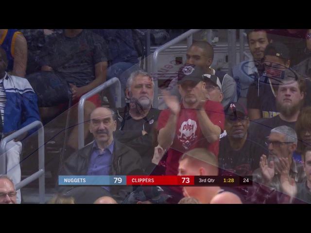 Montrezl Harrell (18 points) Highlights vs Denver Nuggets 1-17-18