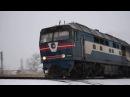 ТЭП70 0110 с поездом №608 сообщением Бердянск Пологи Запорожье 1 и приветливый машин