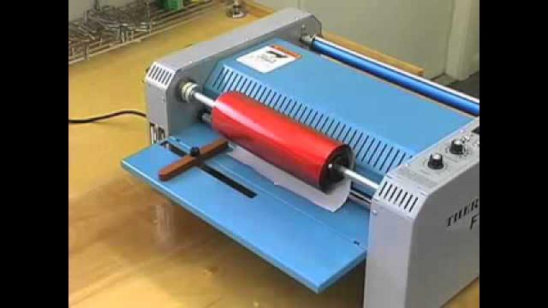 Как работать с фольгиратором - FT10 Foil Fuser