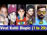 Virat Kohli Biopic from 1 to 29 Years Old | Virat Kohli Transformation | You Won't Believe It