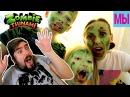 Сумасшедшие Зомби Апокалипсис Челлендж кто съест больше мозгов в игре про Зомби Цунами
