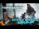 Rise of the TOMB RAIDER/ Веселые каникулы в Сибири/ Part 4/ PS4 Pro