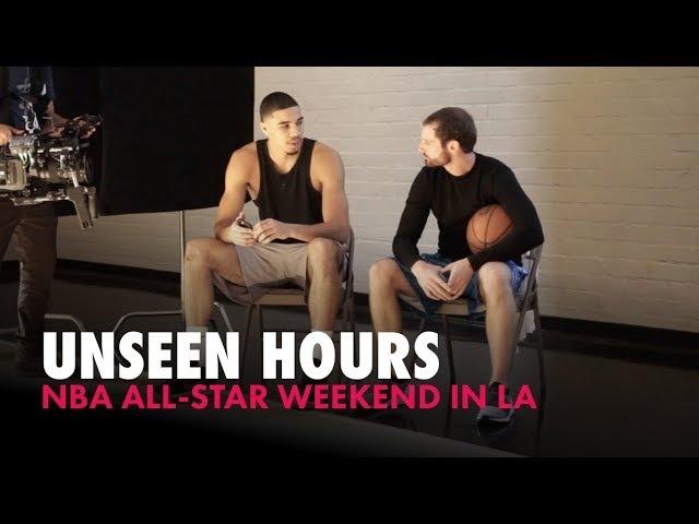 NBA All-Star Weekend With Jayson Tatum Jordan Clarkson | Unseen Hours Ep. 9