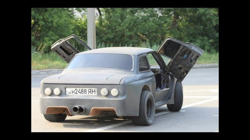 Самородок из Украины переделал ЗАЗ 968 в ЭТУ ДРИФТ КАР