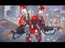THE LEGO® NINJAGO® Movie™ – Огненный робот Кая