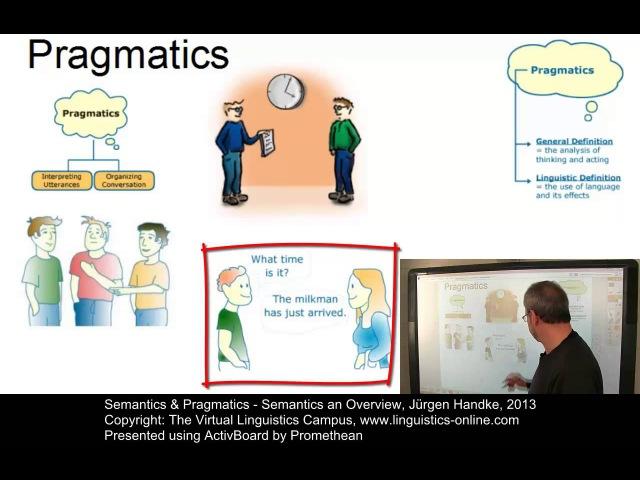 SEM101 - Semantics - An Overview