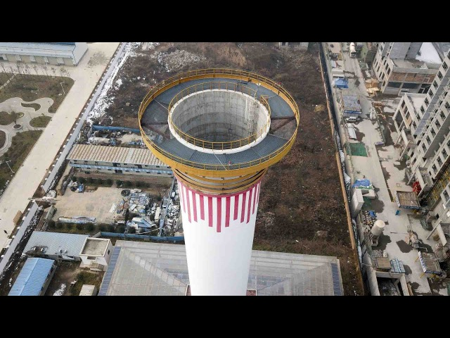 Watch: World's biggest air purifier on trial run in Xi'an