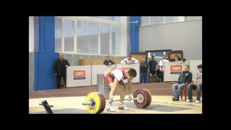 Тяжёлая атлетика Торопов Влад, 73.5 кг Толчок 155 кг 17 лет