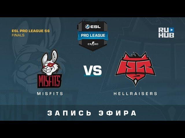 Misfits vs HR - ESL Pro League S6 Finals - map2 - de_overpass [ceh9, GotMint]