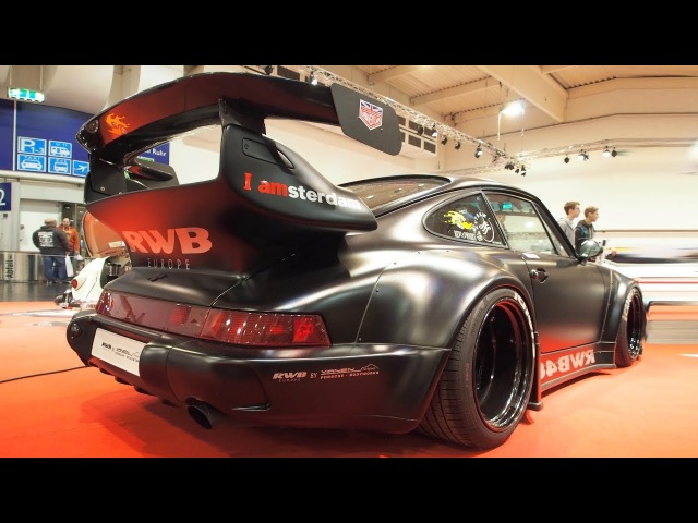 Porsche 964 RWB48 Tuning by Rauh Welt Begriff 3.6 320 PS, Works Wheels R18, Wide Body by Akira Nakai