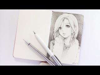 Sketching NANA KOMATSU from NANA - Patreon Series 04