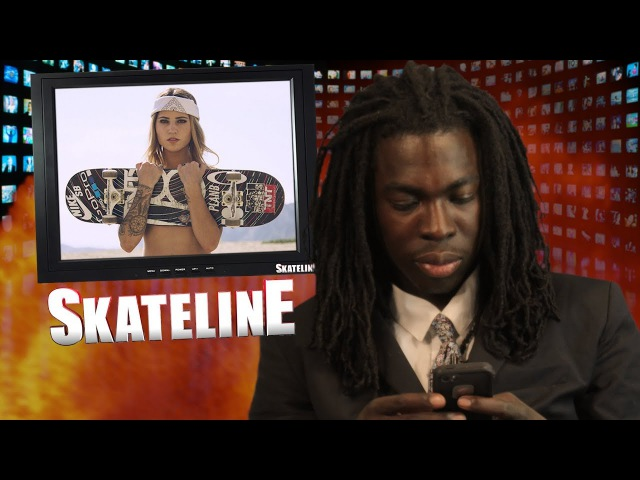 SKATELINE Leticia Bufoni Riley Hawk Jamal Smith Elijah Berle Tommy Fynn