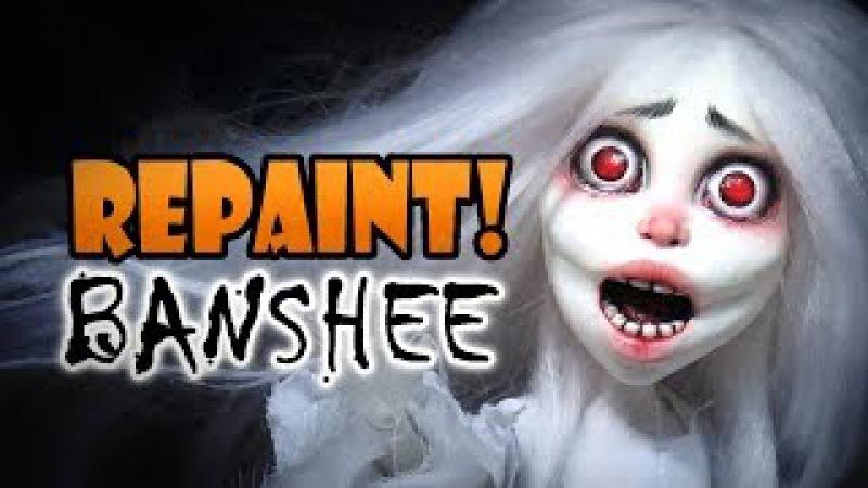 Repaint! Halloween Special Banshee Custom OOAK Doll