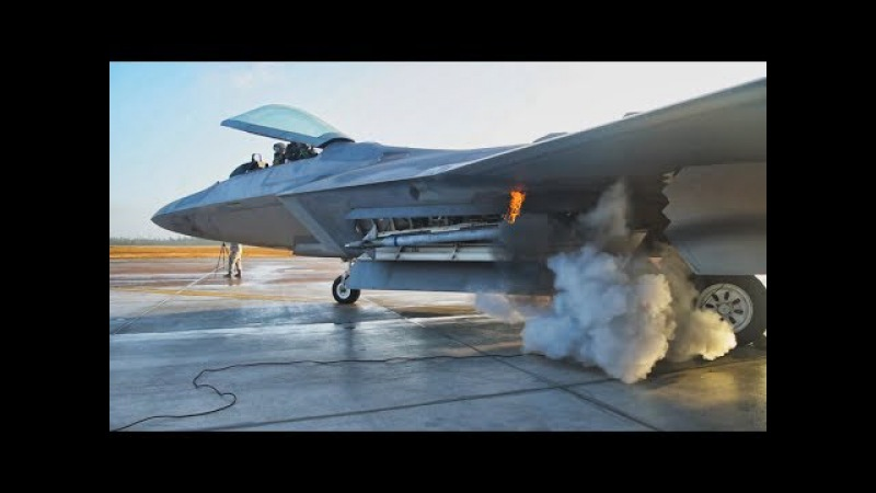 Fighter Jets and Bombers Engine Start-Up. Reactive vs Propeller.