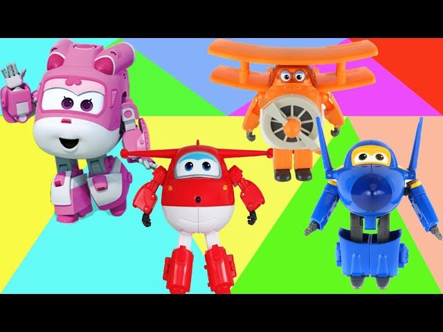 Wrong body Super wings Robocar Poli Transforming Roy [출동! 슈퍼윙스/Superwings] 출동! 슈퍼윙스 키즈카페에 가다!