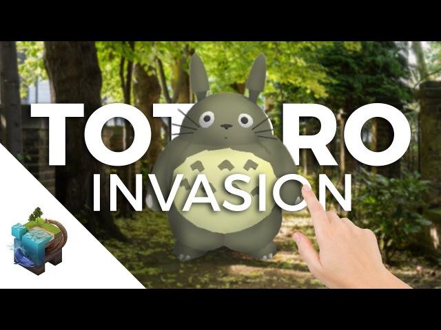 Apple ARkit - TOTORO Invasion!