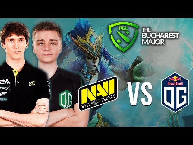 NAVI vs OG - EPIC GAME! - BUCHAREST MAJOR 2018 - Dota 2