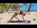 Intermediate Yoga ♥ Stress Release Flow   Playa Barrigona
